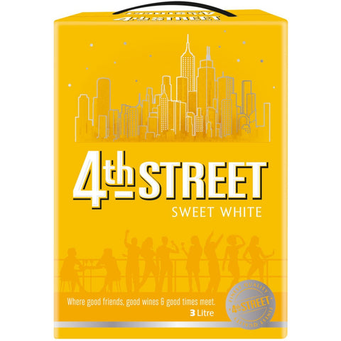 4th Street Sweet White 3L - MotherCity Liquor Store