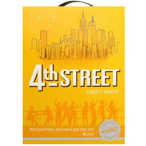 4th Street Sweet White 5L - MotherCity Liquor Store