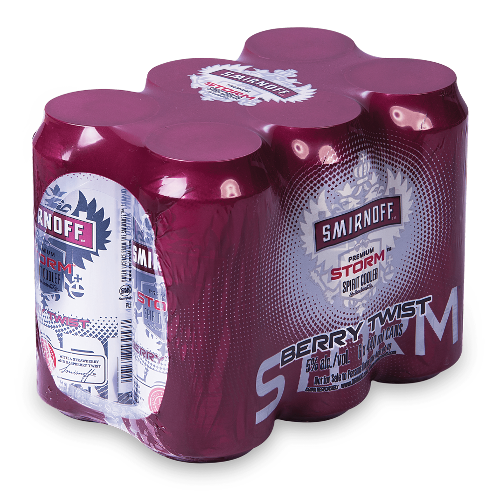 Smirnoff Berry Twist 440ml Can - MotherCity Liquor Store