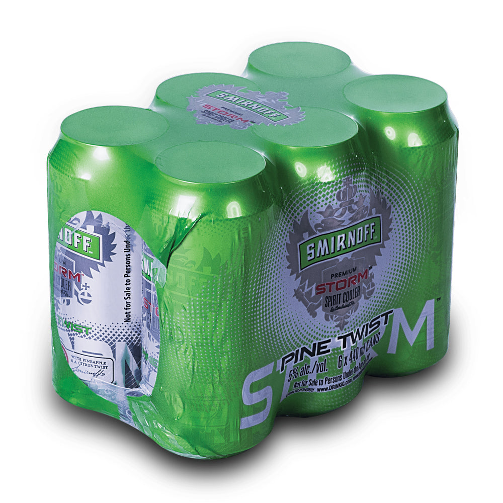Smirnoff Pine Twist 440ml Can - MotherCity Liquor Store