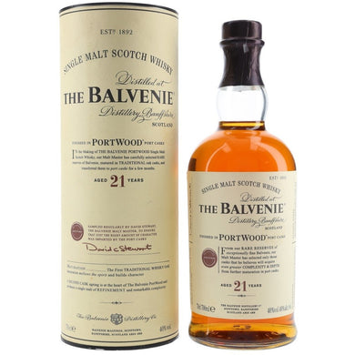 The Balvenie 21 year Portwood 750ml_Buy Online_Mothercity Liquor