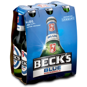 Becks Blue 330ml - MotherCity Liquor Store