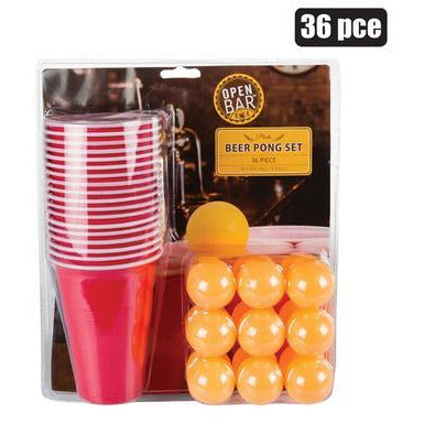 Beer Pong Set 36 pc_Buy Online_Mothercity Liquor_National Delivery