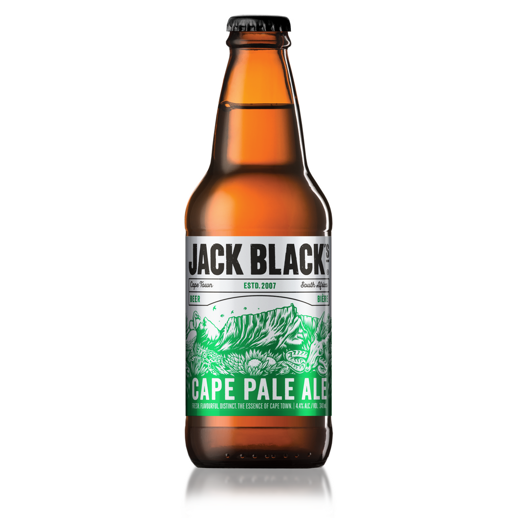 Jack Black Cape Pale Ale NRB 340ml - 6 Pack - MotherCity Liquor Store