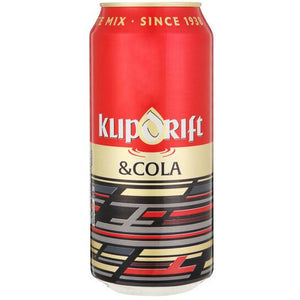 Klipdrift & Cola 440ml Can