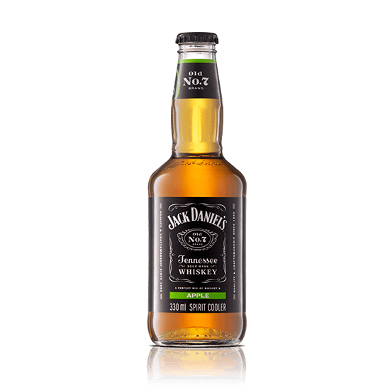 Jack Daniels & Apple 330ml NRB - 4 Pack - MotherCity Liquor Store
