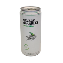 Savage Sparkles Lemon & Lime 300ml - MotherCity Liquor Store