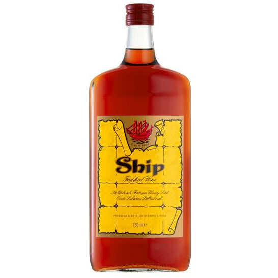 Ship Sherry 750ml - MotherCity Liquor Store