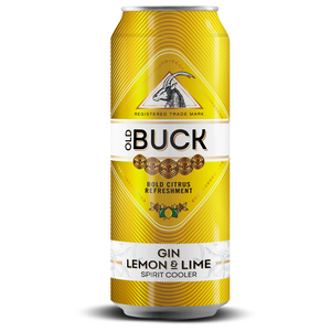 Old Buck Lemon & Lime 440ml - MotherCity Liquor Store
