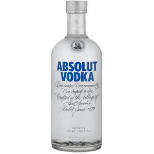 Absolut Imported Blue Vodka 750ml - MotherCity Liquor Store