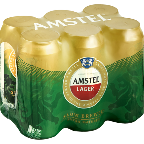 Amstel 440ml Cans - MotherCity Liquor Store