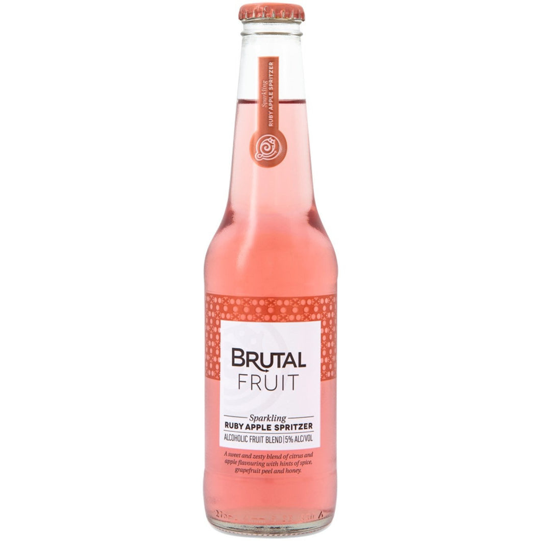 Brutal Fruit Ruby Apple 275ml - MotherCity Liquor Store