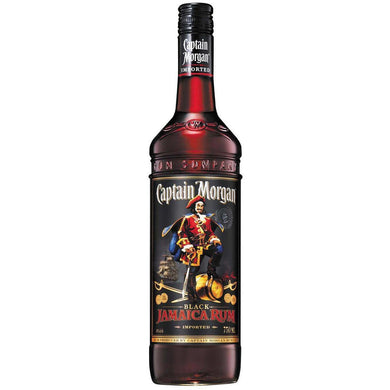 Captain Morgan Black Jamaica Rum 750ml - MotherCity Liquor Store