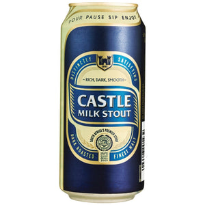 Castle Milk Stout 500ml Can - MotherCity Liquor Store