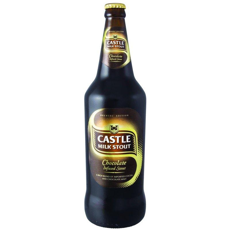 Castle Milk Stout Chocolate 750ml (12 x 750ml) - MotherCity Liquor Store