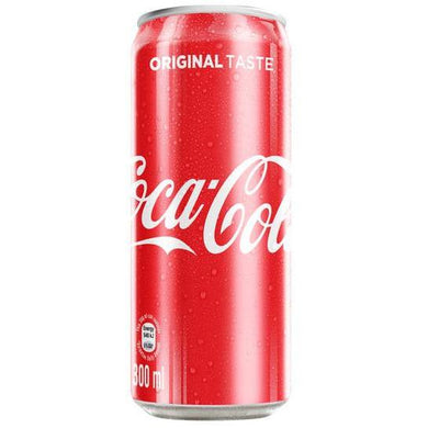 Coke 300ml Can - 6 pack - MotherCity Liquor Store