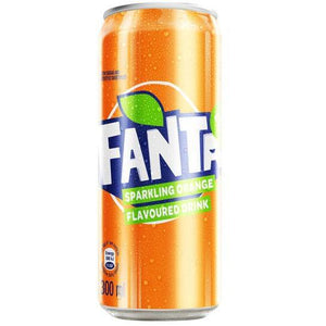 Fanta Orange 300ml Can - 6 Pack - MotherCity Liquor Store