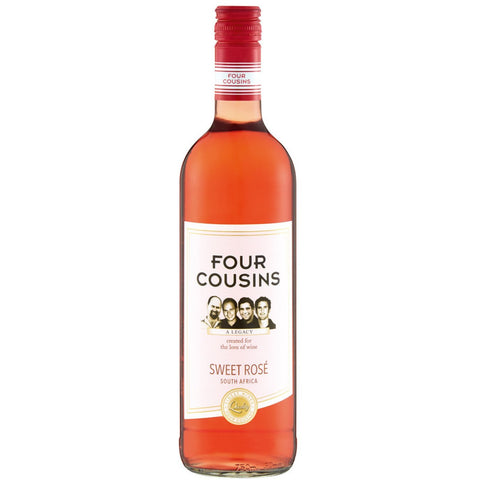 Four Cousins Sweet Rose - MotherCity Liquor Store
