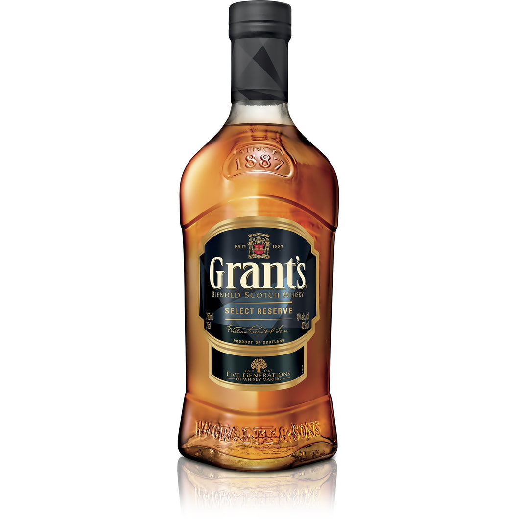 Grants Select Reserve 750ml - MotherCity Liquor Store