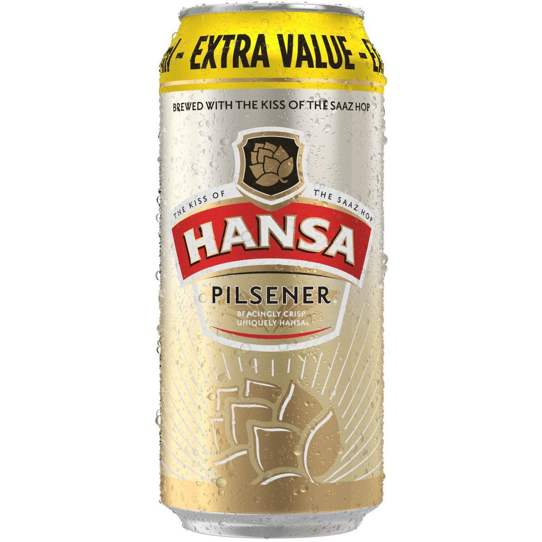 Hansa Pilsner 500ml Can - MotherCity Liquor Store