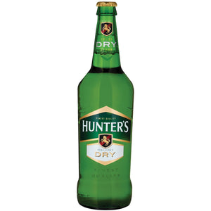 Hunters Dry 660ml RB - Case - MotherCity Liquor Store