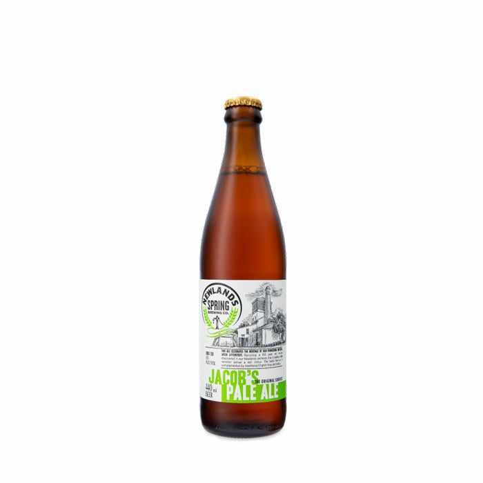 Jacob's Pale Ale 440ml - MotherCity Liquor Store