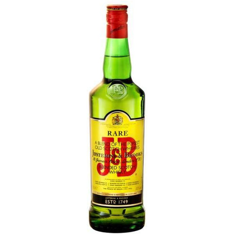 J&B Blended Scotch Whisky 750ml - MotherCity Liquor Store