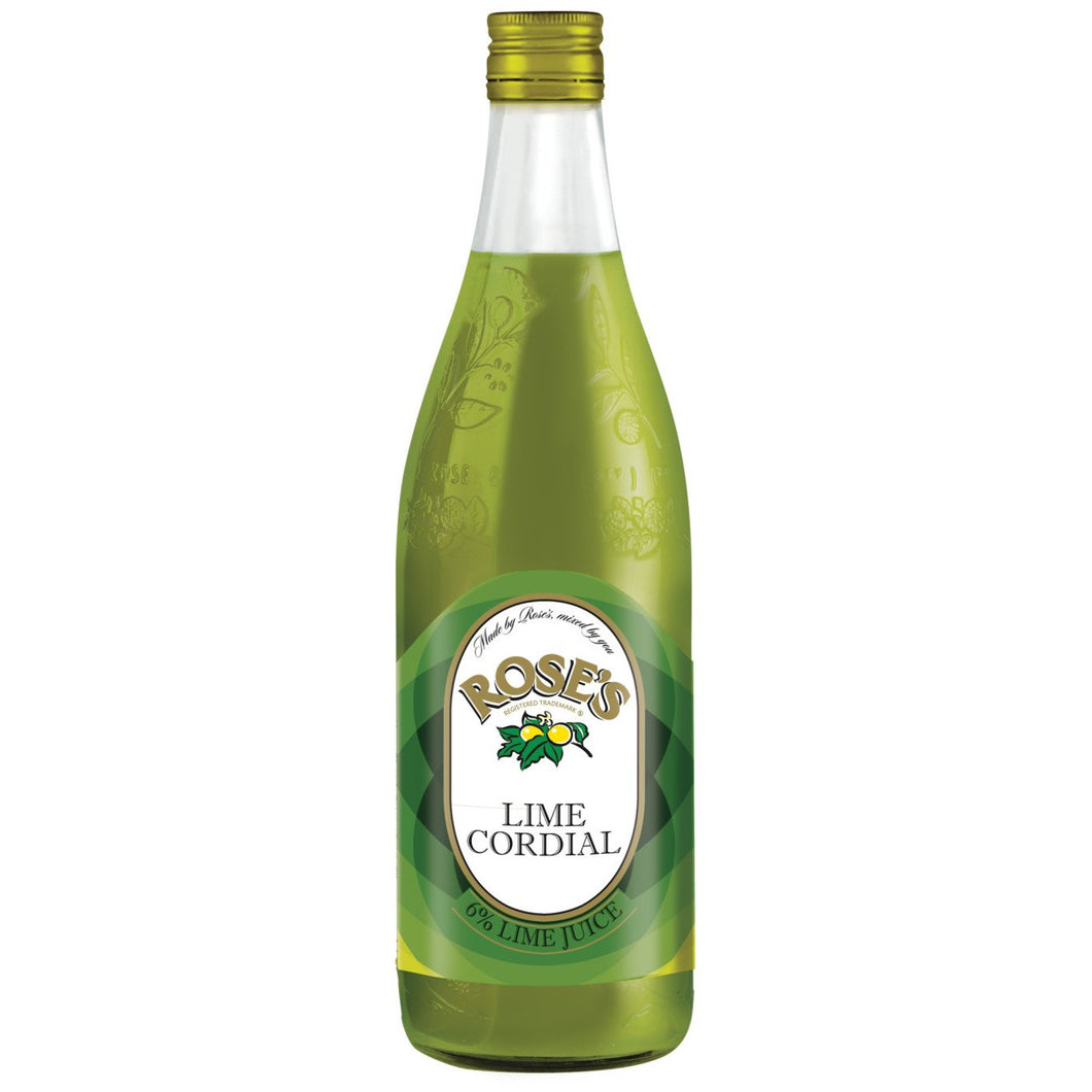 Roses Lime Cordial 750ml - MotherCity Liquor Store