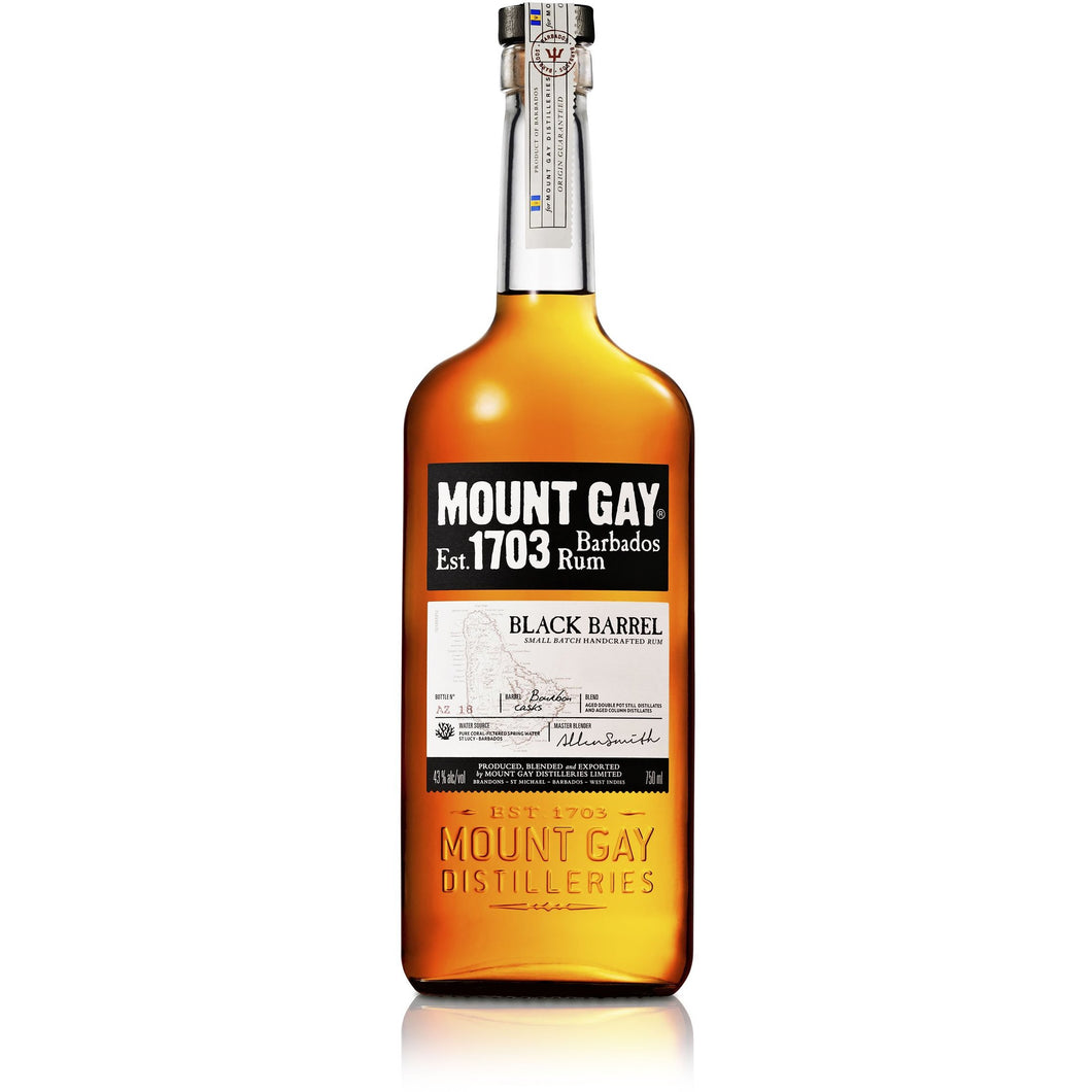 Mount Gay Black Barrel Rum 750ml - MotherCity Liquor Store