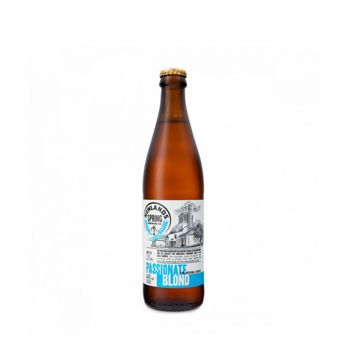 Passionate Blond 440ml - MotherCity Liquor Store