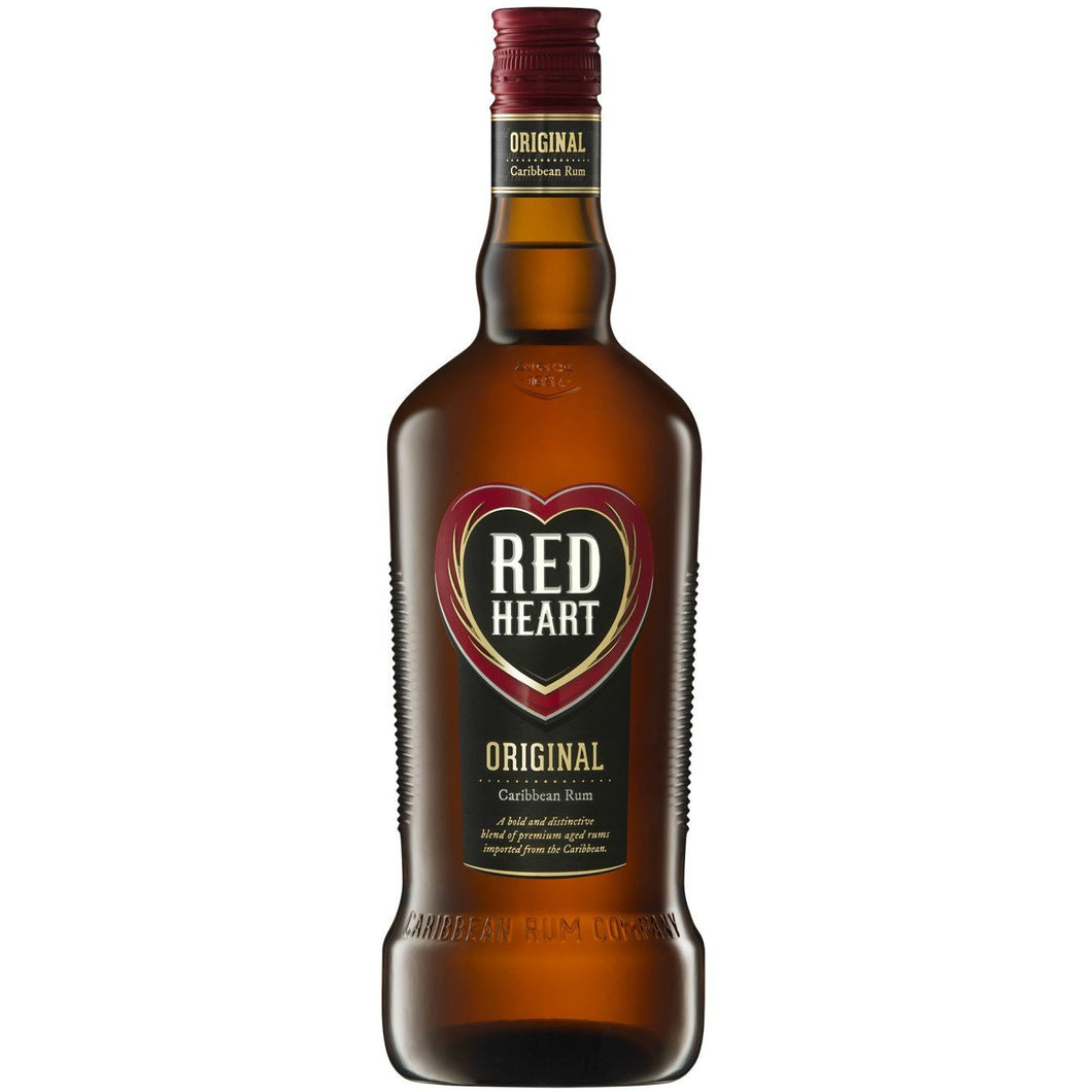 Red Heart Rum 750ml - MotherCity Liquor Store