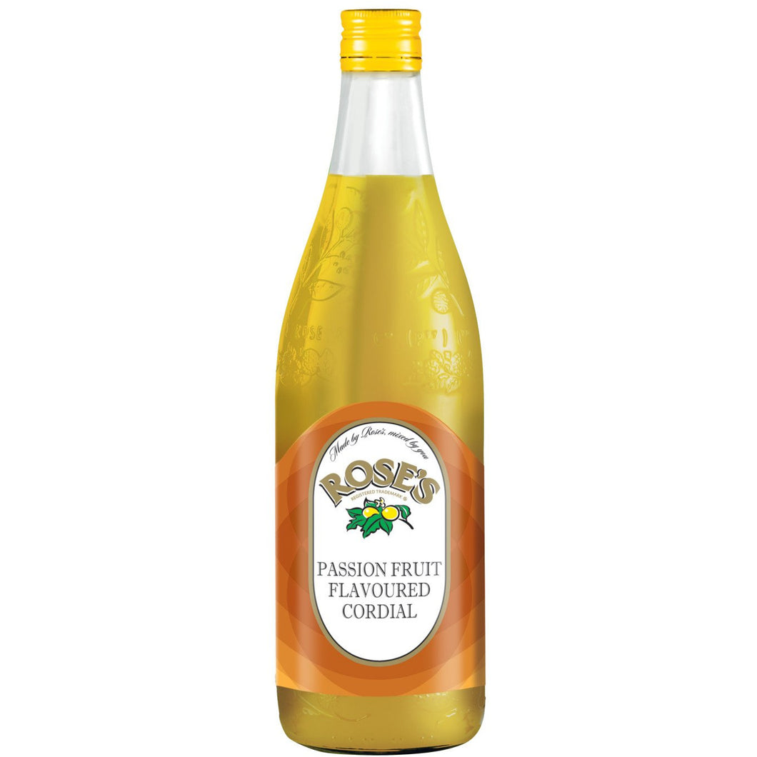 Roses Passion Fruit Cordial 750ml - MotherCity Liquor Store