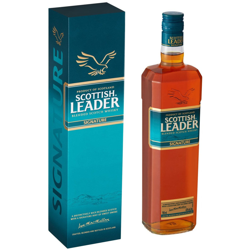 Scottish Leader Blended Scotch Whisky Signature 750ml - MotherCity Liquor Store