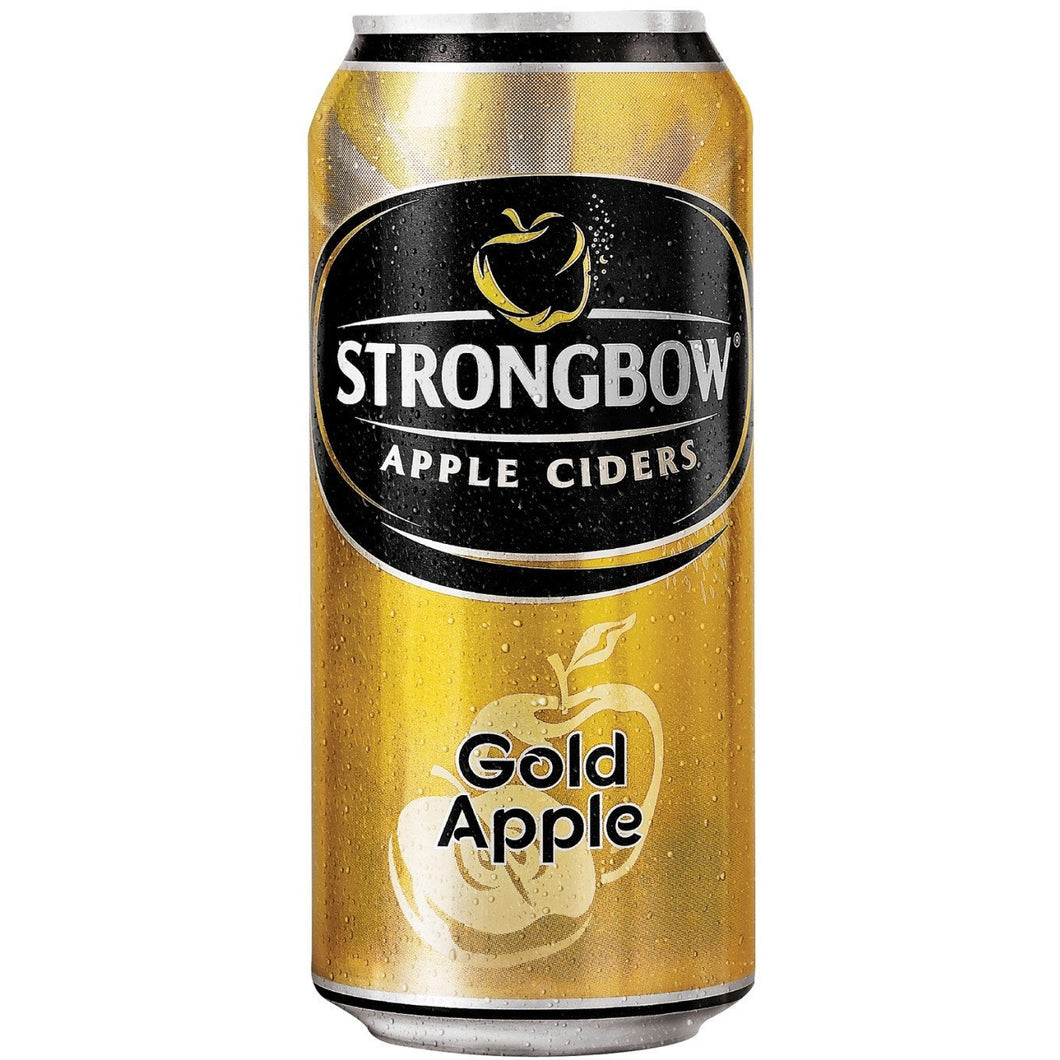 Strongbow Gold Apple 440ml Can - MotherCity Liquor Store