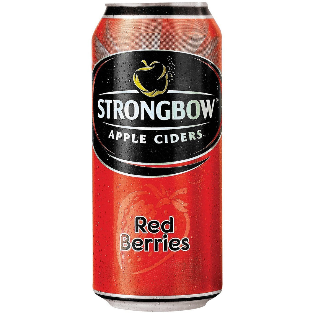Strongbow Red Berries 440ml Can - MotherCity Liquor Store