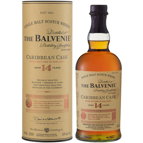 The Balvenie 14Yr Old Caribbean Cask - MotherCity Liquor Store