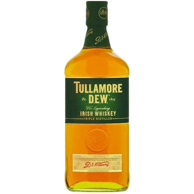 Tullamore Dew Irish Whiskey Triple Distilled 750ml - MotherCity Liquor Store