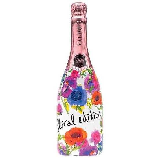 Valdo Rose Floral Edition Brut - MotherCity Liquor Store