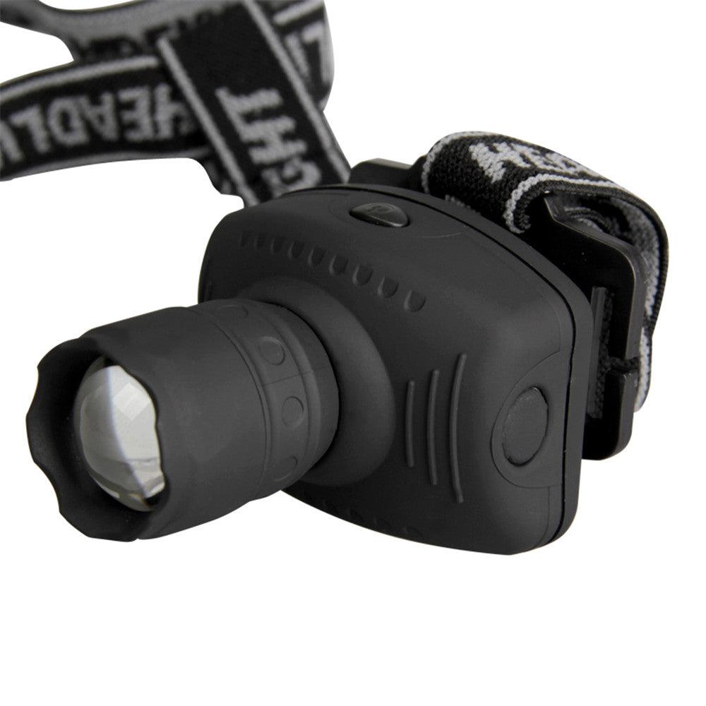 Super Bright Mini LED Headlamp Zoom-able for Hiking Camping