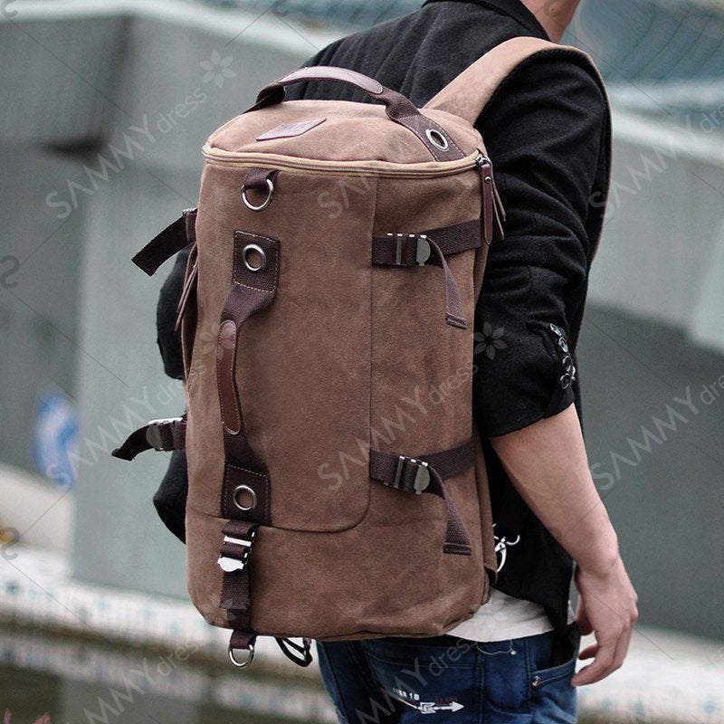 Shoulder Bag Men British Backpack Fashion Student Outdoor Rucksack