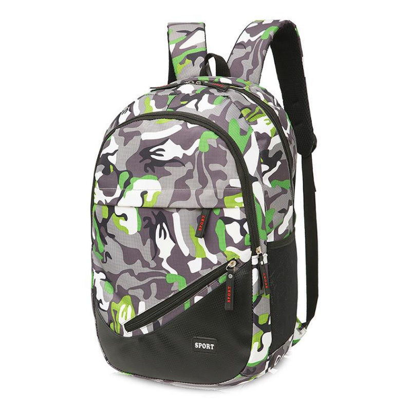 Mens Camouflage Backpack