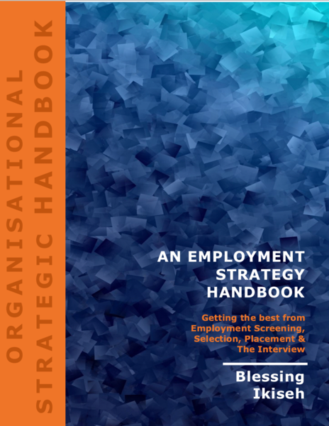 An Employment Strategy Handbook - Now Available