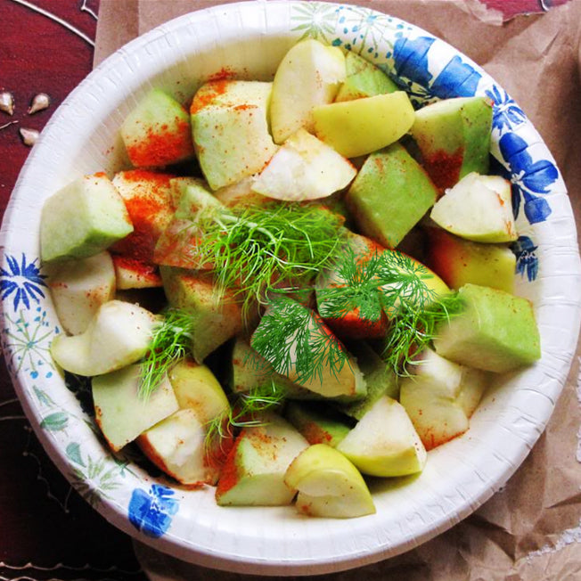 Fennel Flavoured Guava Salad