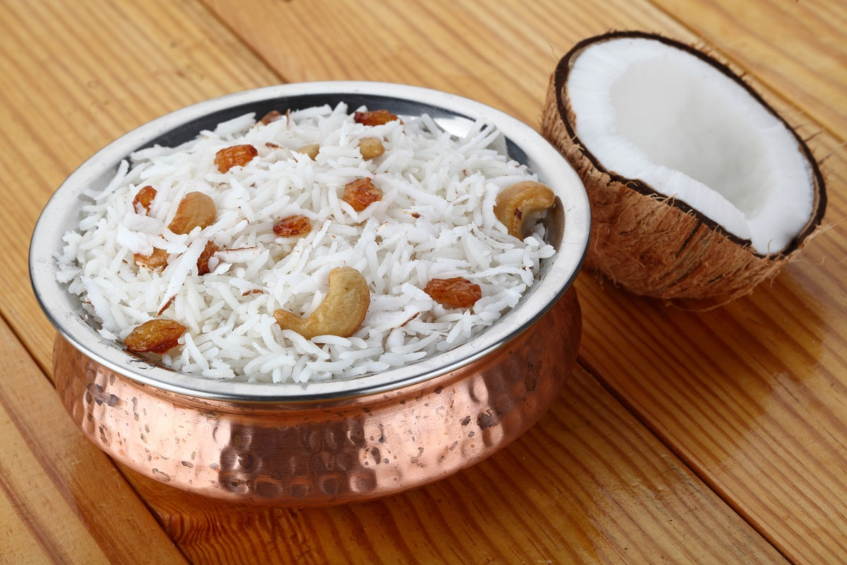 Easy Ganesh Chaturthi 2020 festival recipes to offer: Coconut rice