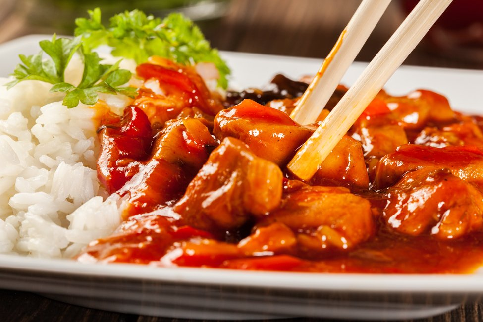 Guilt-Free Sweet and Sour Chicken