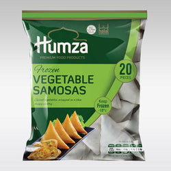 Humza Vegetable Samosa 650g (20 pieces)