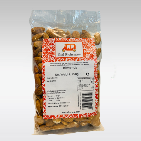 Red Rickshaw Almonds