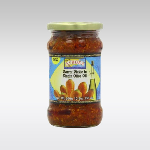 Ashoka Carrot Pickle (Olive Oil) 300g