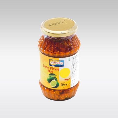 Ashoka Hot Lime Pickle 500g - redrickshaw.com