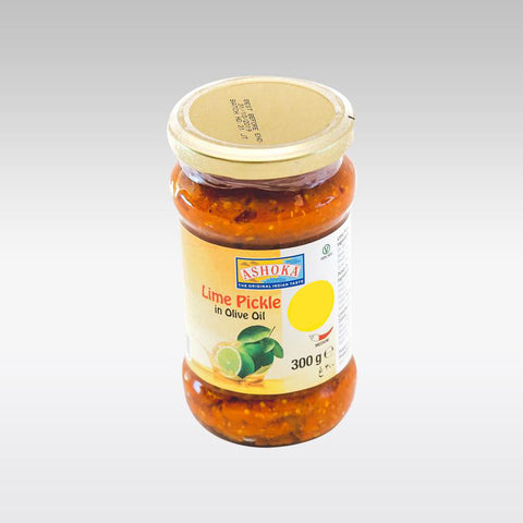 Ashoka Lime Pickle in Olive Oil 300g - redrickshaw.com